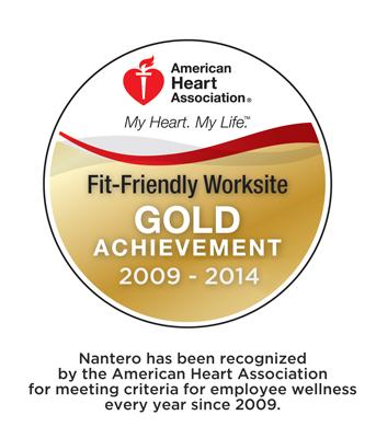 Nantero  —— 美国心脏协会认可的健康工作场所